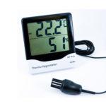 Zidni termohigrometar sa internim senzorom i eksternom sondom, 810-140